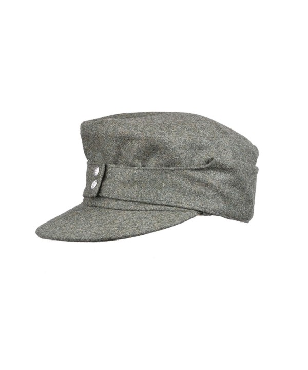 Heerpoint Reproduction Ww2 German Wh Em Army M43 Panzer Solider Wool Field Cap Hat - CC12CUKC813