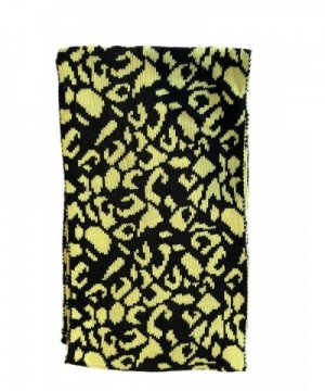 Fashion Scarves Unique Pattern Yellow in Fashion Scarves