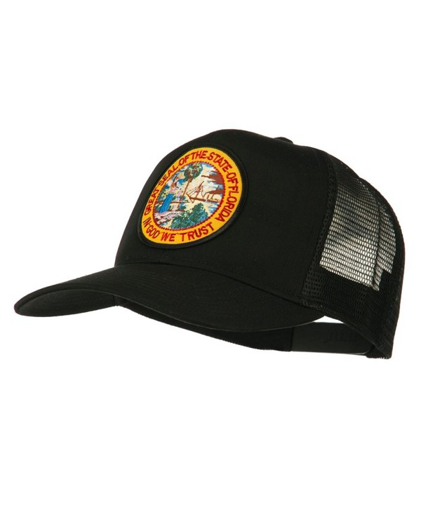 Florida State Patched Mesh Cap - Black - CW11Q3T2UE3