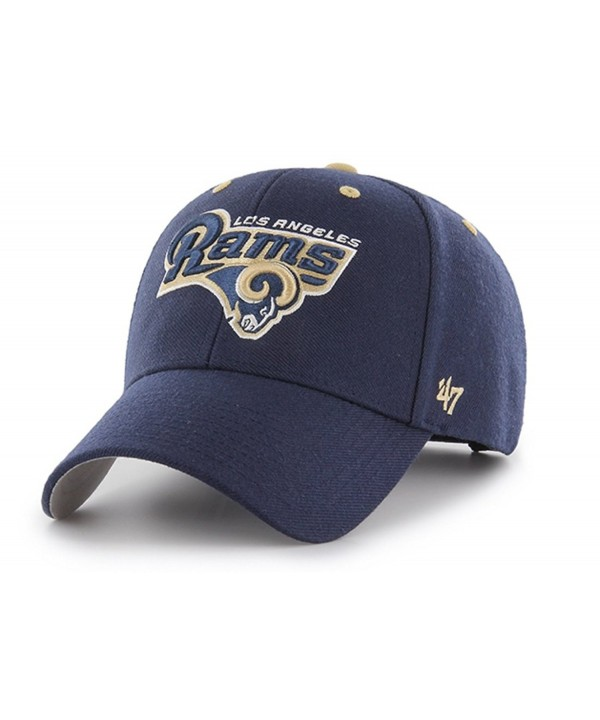 47 Brand Men's NFL Audible Team Adjustable Hat - Los Angeles Rams (Navy) - CB12LLPM7DH