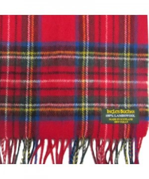 Ingles Buchan IB SCARF_WOOL_ROYAL_STEW Royal Stewart