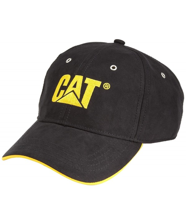 Caterpillar Men's Trademark Microsuede Cap - Black - CW111AGXMVD