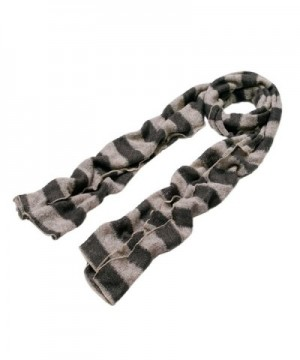 Premium Long Soft Knit Striped Scarf Different Colors Available