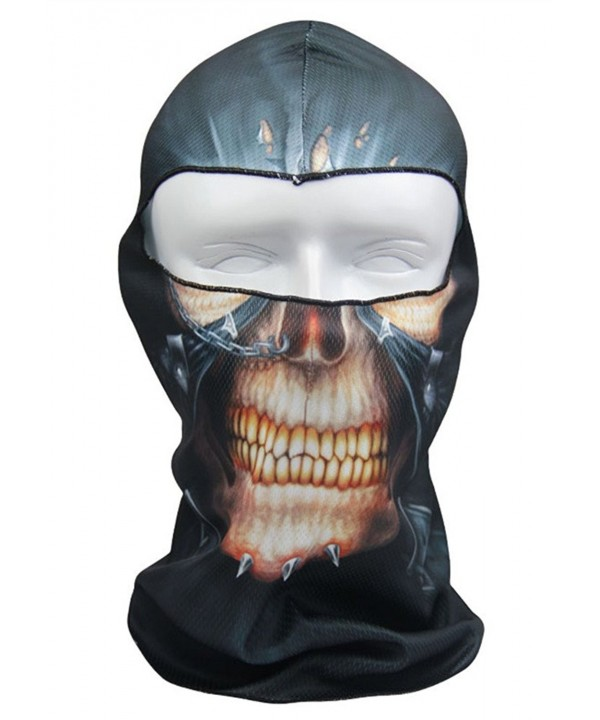 Cycling Sports Fantastic Face Mask Ultra Thin Neck Hood Balaclava - Punk Walker - CJ11XFQ7FTH