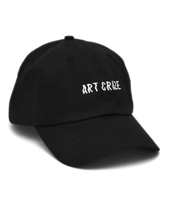 Baseball Adjustable Embroidery Skyed Apparel - Black Cotton - CI12NYE8LB7