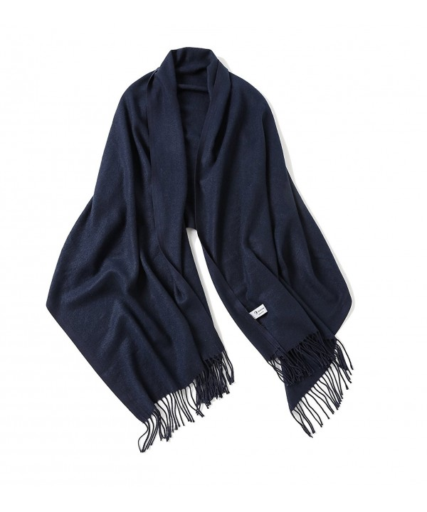 Blend Blanket Cashmere Oversized Classic - Navy - C9186RCRZ32