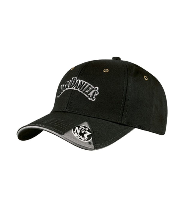 Jack Daniels Men's Daniel's Old No. 7 Cap - Jd77-42 - Black - C5113EZQ9RX