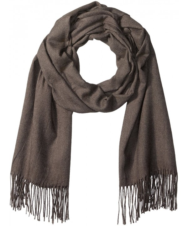 PURE STYLE Girlfriends Women's Super Soft- Elegant- Fringed Scarf Pashmina Shawl Vers - Grey - CI12N8SS2D2