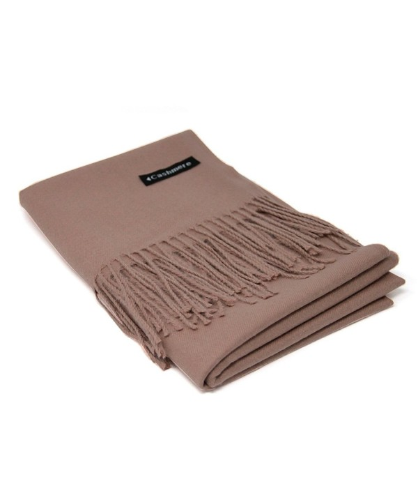 Camel Brown 100 Cashmere Scarf - Camel Brown - CP188NDC88M