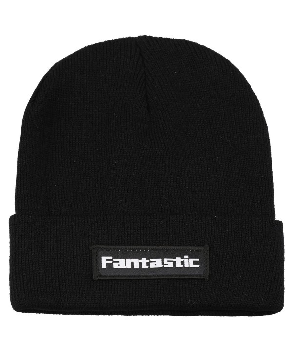 Fantastic Zone Winter Acrylic Slouchy - Black - C01898Q5ZYK