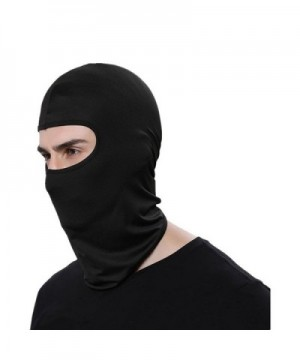 ZTMY Balaclava Ski Face Mask Face Mask Cool Hood Neck Warmer For Outdoor Motorcycle - Black - CH186M3LAS4