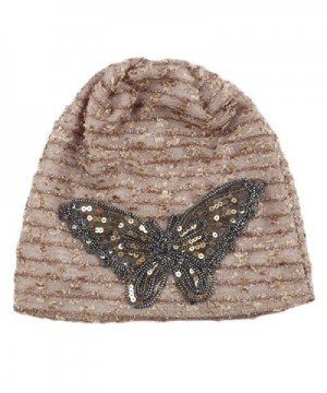 ChezAbbey Womens Winter Bilayer Butterfly