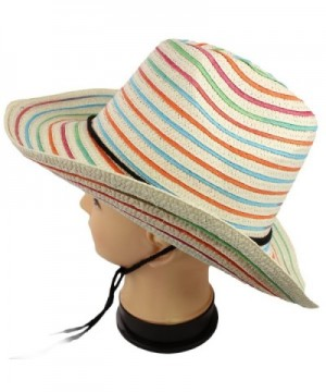 bogo Brands colorful Accents Adjustable in Women's Sun Hats