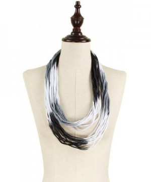 Womens Ombre Jersey Shred Necklace in Fashion Scarves