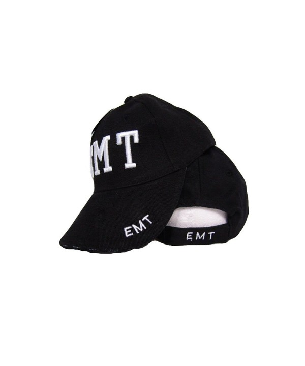 EMT Emergency Medical Technician Embroidered 3D Baseball Hat Cap - C6182A37AXM