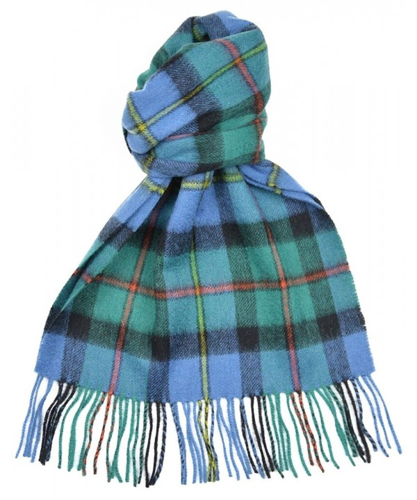 Lambswool Scottish Clan Scarf Macleod Of Harris Ancient Tartan - C5118SCFMZ7
