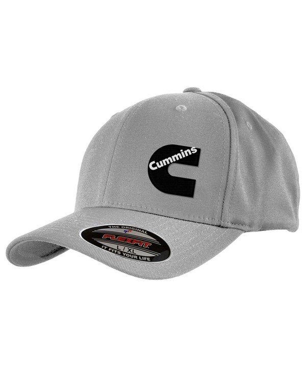 Cummins Diesel FlexFit Hats - Grey - CA128NM71F5