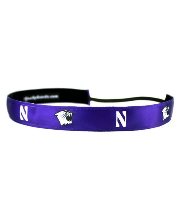 One Up Bands Women's NCAA Northwestern University Team Navy/Black One Size Fits Most - Navy/Black - CF11K9XDU9X