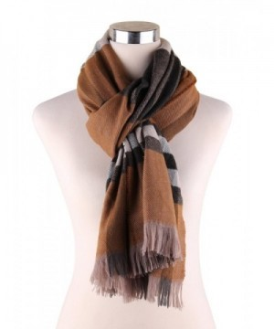 Plaid Blanket Scarf Pashmina Scarves in Fashion Scarves