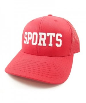 The Sports Hat - Red - CV18846MGGC