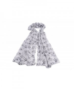 Womens Puppies Print Scarf SELLER in Fashion Scarves