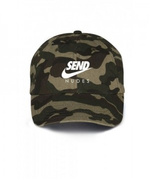 Send Nudes Unstructured Baseball Dad Hat- Camo - CA17X3LWMGI