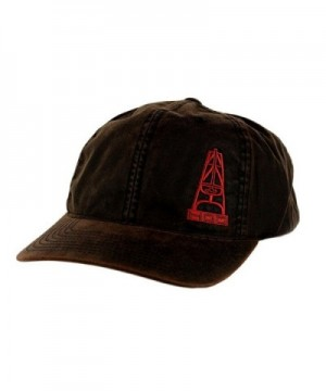Hooey Hat - 'The Hand' Waxed Oil Gear Hat - Brown - CQ12EEXZ4LF