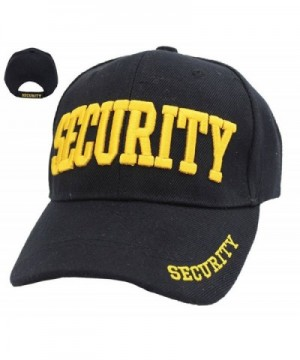 First Class Security Cap with ID On Front- Peak and Back - Gold Security Id - CN11L6DAS71