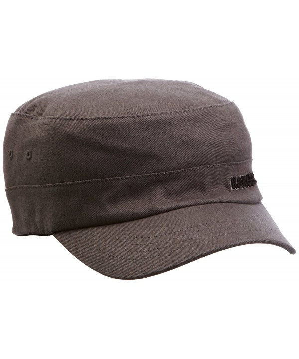 Kangol Men's Flexfit Army Cap - Grey - CD112BYT0PV