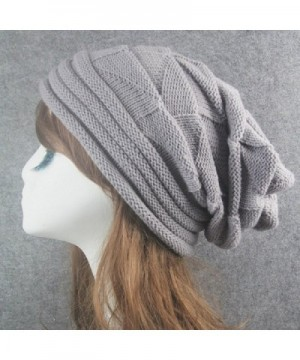 Fashion Winter Braided Crochet Beanie