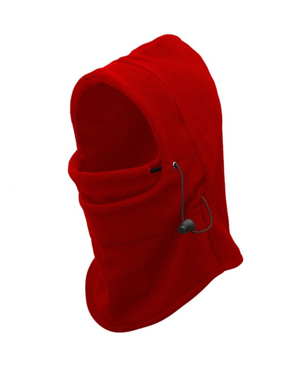 Balaclava Windproof Motorcycle Retention Comfortable - Red - CV1888I4Z2K