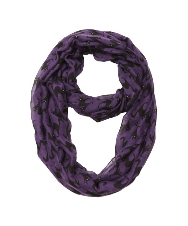 MissShorthair Halloween Infinity Scarf Lightweight Loop Holiday Gift Idea - Cat - CP186QNNQUM