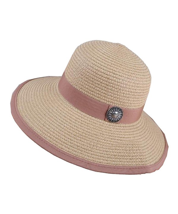 Coolred Women Backpacking Cowboy Embroidered Sun Shade Hat - As1 - CS183LR8EX7