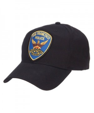 Francisco Police Patched Cotton Twill