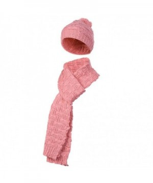 Vbiger Winter Scarf 2 Pieces Knitted