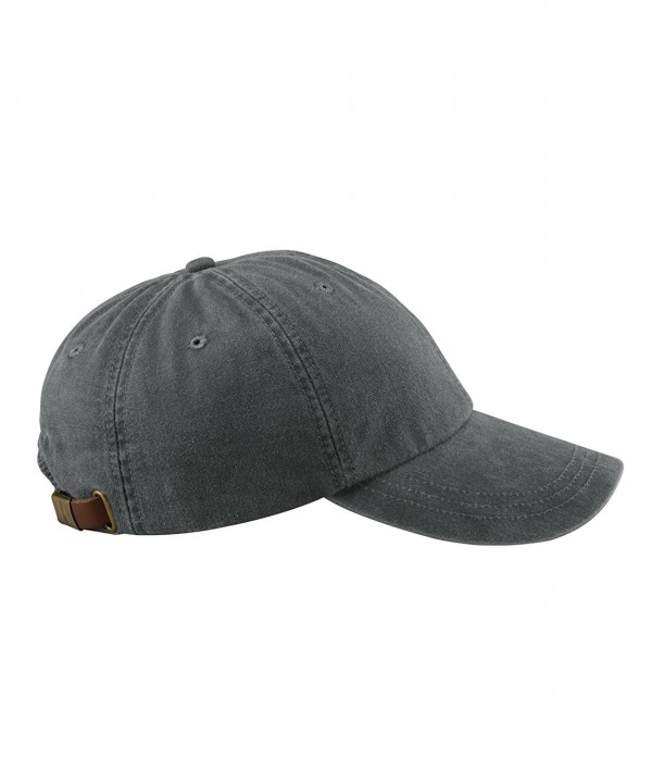 Adams 6-Panel Low-Profile Washed Pigment-Dyed Cap - Charcoal - CV12N3CWA0A