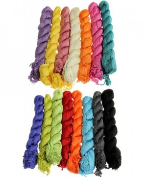 Fashionable Spring Summer Solid Color in Fashion Scarves
