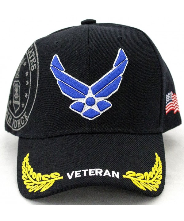 U.S. Air Force Veteran Embroidery Baseball Cap - CR128SRMKZL