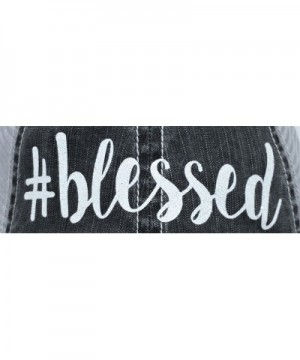 Loaded Lids Blessed Distressed Baseball