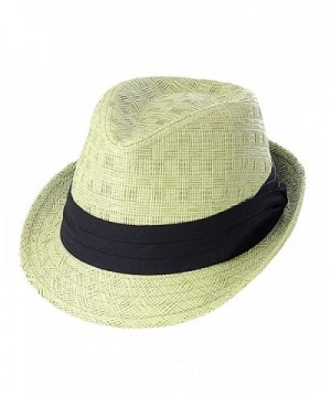 NYFASHION101 Womens Paper Fedora X Large in Women's Fedoras