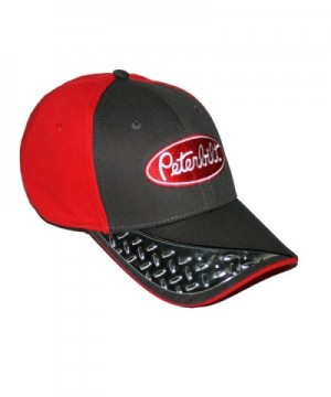 Peterbilt Motors Diamond Plated Embroidered Bill Cap - C512NUDZ4V7