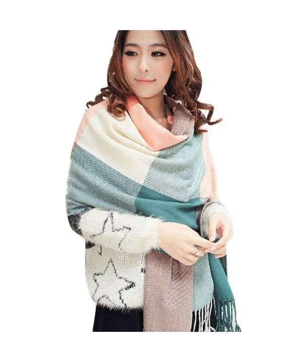 Clearance! Coromose Womens Elephant Print Long Scarf Shawl Wrap Pashmina - Multicolor - CT128ZKNE8N