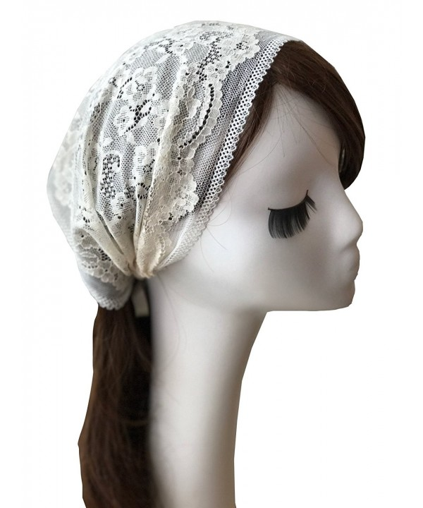 Hotsale Floret Headband Stretch Lace Headwrap Lace Veil V09 - CR184Q6WS5C