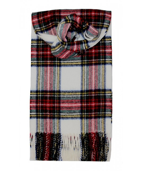 Stewart (Dress) Tartan Lambswool Scarf - CJ115TIMGEN