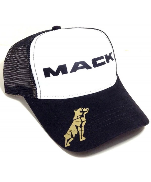 Mack Trucks Mesh Trucker Snapback Hat - CO121DPV8M1