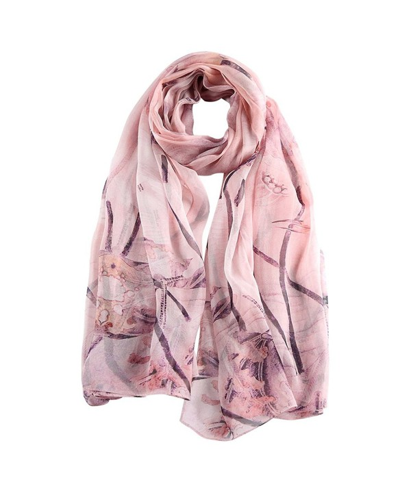 STORY OF SHANGHAI Women's Pure Mulberry Silk Scarf Large Print Shawl Wraps - Hs15 - CP12D246VPZ