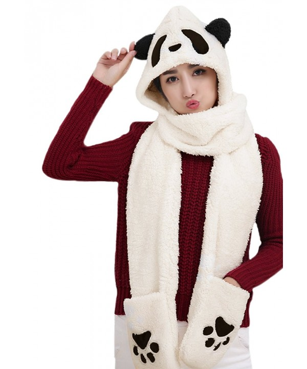 Weather Earmuff Headbands Costume Christmas - Black Eyes Panda - C01884Q338K