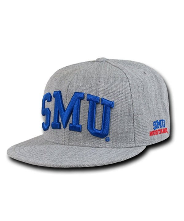 W Republic Apparel Game Day Snapback (SMU (S. Methodist)) - Heather Grey - CC12GP33PGD