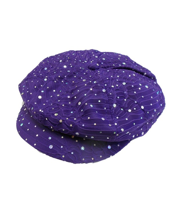 Glitter Newsboy Cap /// Purple /// Why pay more for the same hat? - CJ113R9OBEJ