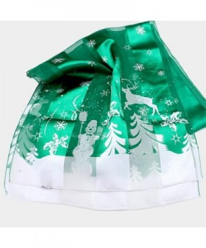 Christmas Holiday Silk Scarf Collection in Fashion Scarves